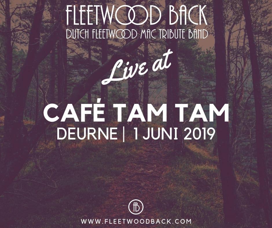 1 juni Café Tam Tam Deurne