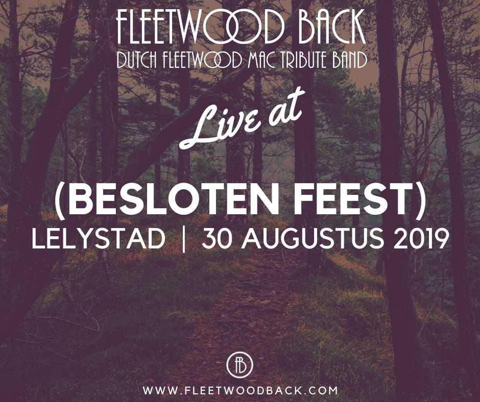 Live@BeslotenFeest 30 augustus