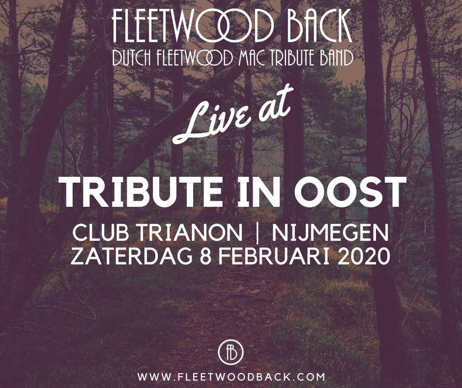 Live@Tribute in Oost 2020