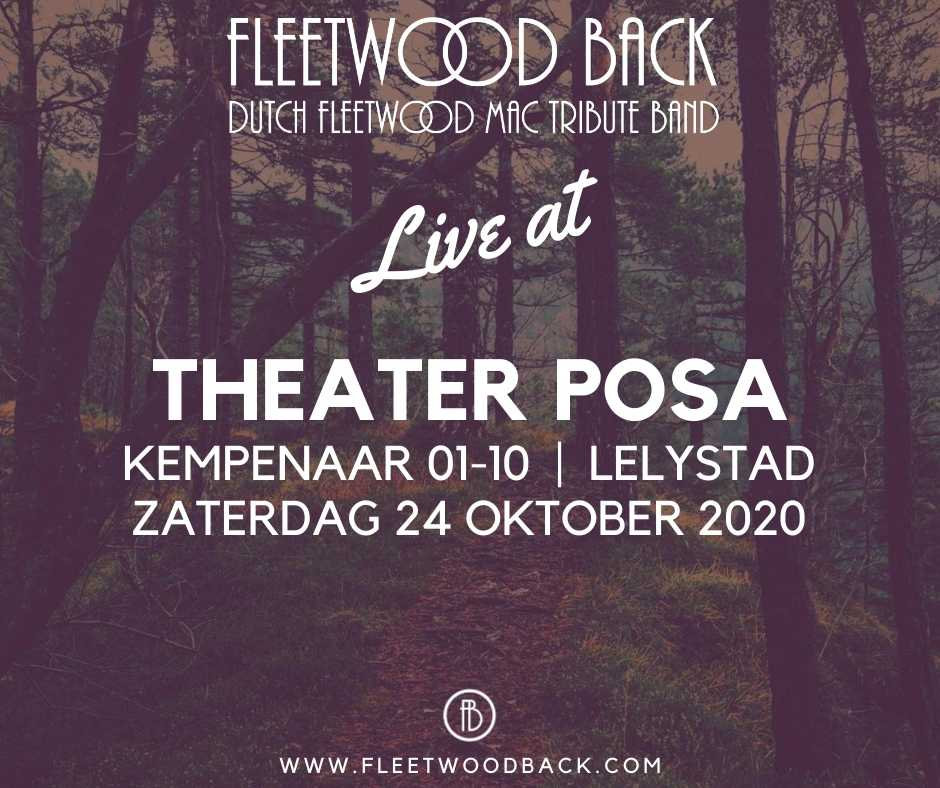 Live@Theater Posa 24 oktober 2020